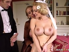 Young rich boy had firm 3 way with two buxom mommies