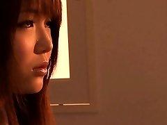 Japanese schoolgirl girl-on-girl make out session