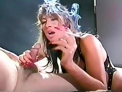 Old School shortly to be vintage smoke fetish video