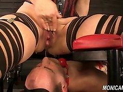 Wet and dirty female dom from MonicaMilf - Norwegian facesitting