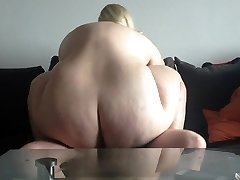 Super-steamy blonde bbw amateur drilled on cam. Sexysandy92 i met via Trysts25.COM