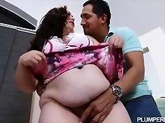 Pregnant Bbw Vanessa London Drills Hubbys Best Friend
