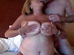 Busty Mature BBW Martiddds Shares Nipples Gets Ass-fuck