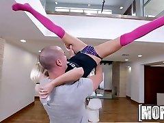 Don't Break ME - Lil' Cutie plows in pink Kneehighs