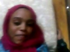 他妈的埃塞俄比亚的穆斯林清洁Hijabi奥罗莫