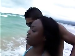 Fabulous adult movie star Jada Fire in incredible cunnilingus, beach intercourse video