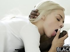 BLACKED Elsa Jean Takes Her First-ever Big Black Cock