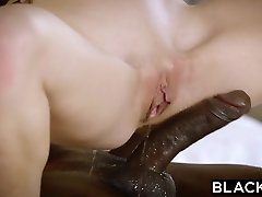 BLACKED Sandy-haired Kimberly Brix First Big Black Cock