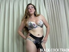 This big strap-on dildo will get you well-prepped for a real cock
