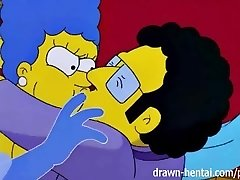The simpsons porno Marge i Artie afterparty
