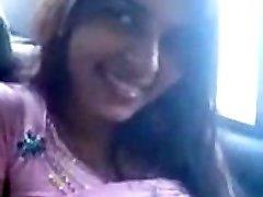 Desi Payal Sharma Big Boobies bachi Cock Deep-throat Blowjob in Car