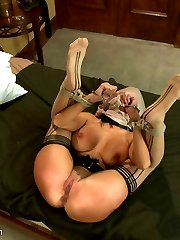 Gorgeous model Ava Addams has her spectacular debut at Sex and Submission where she completely surrenders to intense sexual domination, deep anal penetration and bondage sex!