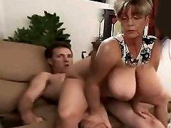 big tit milf rails cock
