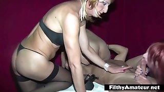Assfucking Crossdresser Sex! Awesome orgy!