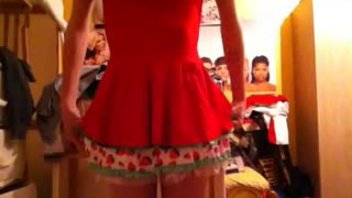 Red-hot Teenaged Crossdresser