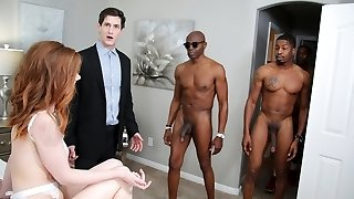 Pepper Hart Bi-racial Buttfuck Gangbang - Cuckold Sessions