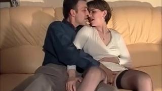 Horny French Wife Fucked Every Hole !