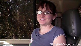 Maci May First Gloryhole Visit