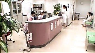 Hottest Japanese chick Mirei Yokoyama, Aya Kiriya, Emiri Momoka in Impressive Handjobs, Dt JAV scene