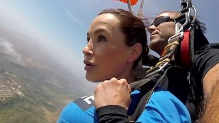 The News @ Fuck-a-thon - Skydiving With Lisa Ann! Pt 2