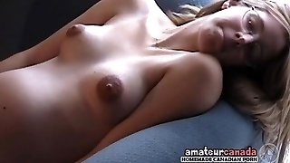 Lean prego country geek fingering pussy wearing glasses