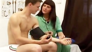 Boy Medical Examination for College Student Dude