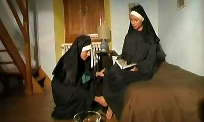 Duo of hot horny NUNS!