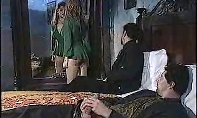 Stellar chick in classic porn movie 1