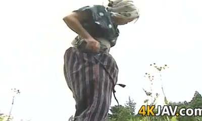 Vintage Japanese Fucking Outdoors