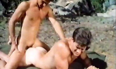 Antique bareback fucking outdoors