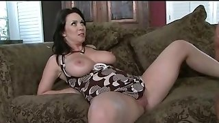 Mommy gets a good creampie