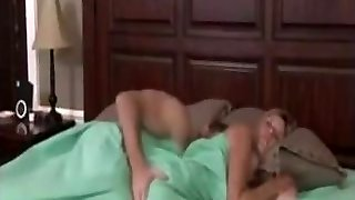 Mom sleeps naked, son-in-law joins in