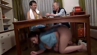 Incredible Japanese slut in Fabulous Suck Off, Fetish JAV clamp