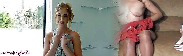 Chloe Scott in Spider Studly