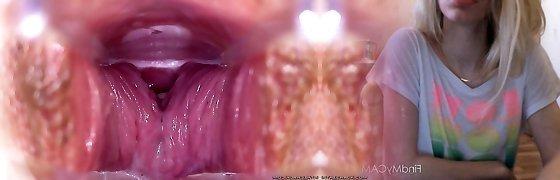 Sandra - Speculum Close-up