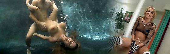 Underwater fuckfest