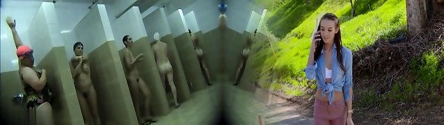 Covert cameras in public pool showers 468