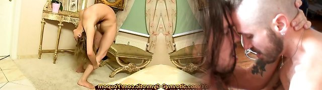 Erotic Model Bianca supple at home (HD)