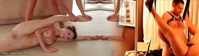 lovely flexible girlfriends naked stretch