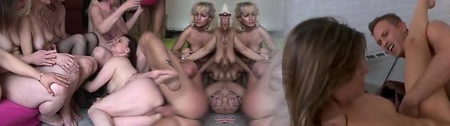 Housewife ass torn up hard