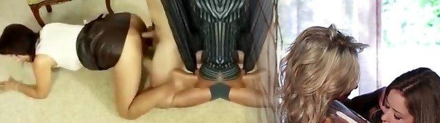 Milf roni crotchless stockings