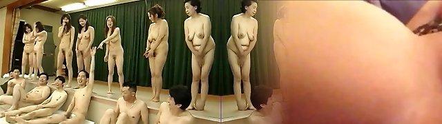 Japanese Milfs crazy urinate party