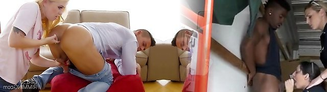 GIRLSRIMMING - Misha Cross prostate massage with asslicking
