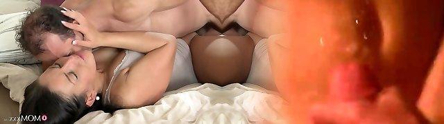 Horny pornstars George, Valentina Velasquez in Unbelievable Black-haired, Big Booty sex scene