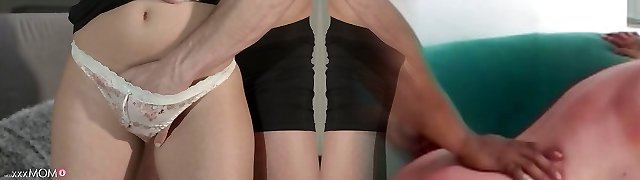 Naughty pornstars Anina Silk, George in Best Cougar, Small Tits xxx clip