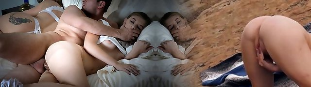 FamilyStrokes - Cuddling and Plowing Scared Daughter Whi
