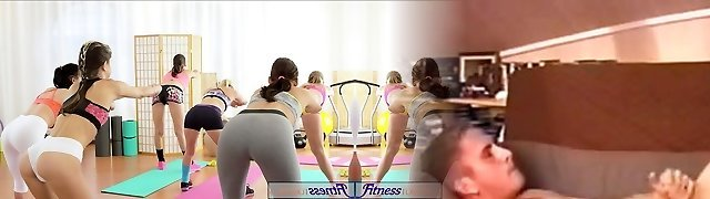 FitnessRooms Young teenagers fuck gym teacher