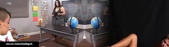 Latina Schoolteacher Angelina Castro