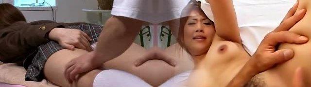 Japanese Teen School Girl Body Massage