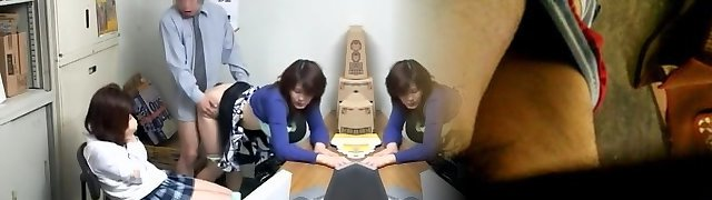 Voyeur video with insane fellatio and japanese drilling